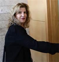 הדס שטייף מגיעה לבית המשפט / צילום: שלומי יוסף