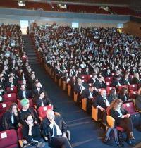 טקס הסמכת עורכי דין בשנה האחרונה/ צילום: איל יצהר