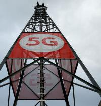 תורן סלולרי עם טכנולוגיית 5G /  צילום: רויטרס, Thilo Schmuelgen