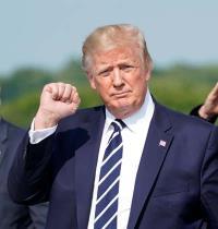 הנשיא טראמפ. / צילום: רויטרס Kevin Lamarque