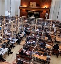 תלמידי ישיבה בבני ברק / צילום: Oded Balilty, Associated Press
