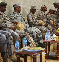 חיילים מאיחוד האמירויות, מערב הסעודית ומתימן במסגרת המאבק באל קאעידה בתימן / צילום: Jon Gambrell, Associated Press