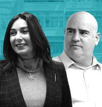 עדיאל שמרון ומירי רגב / צילום: איל יצהר, אלכס קולומויסקי-ידיעות אחרונות