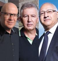 יוסי לוי, גילעד אלטשולר, איציק שנידובסקי / צילומים: ענבל מרמרי ואיל יצהר