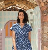 זיכריני גר, מעצבת אופנה, בעלת המותג Zikger / צילום: יקיר בנבניסטה