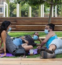 צעירים ישראלים בתקופת הקורונה בישראל / צילום: כדיה לוי, גלובס
