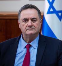 """ישראל כ""""ץ / צילום: אמיל סלמן-הארץ"""