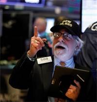 עליות שערים בוול סטריט / צילום: Richard Drew, Associated Press