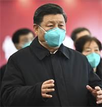 נשיא סין, שי ג'ינגפינג, במסיבת עיתונאים / צילום: Xie Huanchi/Xinhua, Associated Press