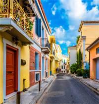 """פריחת שוק הנדל""""ן באתונה, יוון / צילום: Shutterstock/א.ס.א.פ קרייטיב"""