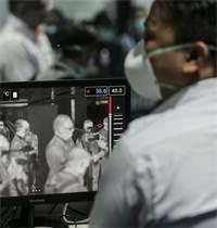 סריקה תרמית במלזיה / צילום: שאטרסטוק