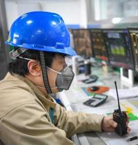 מפעל דגנים במחוז חיילונגג'יאנג בסין ששב לפעילות בסוף השבוע צילום: רויטרס, Wang Song