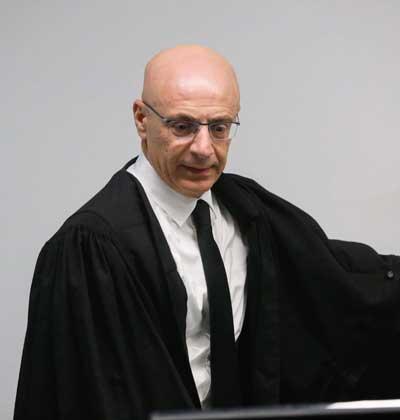 השופט ירון לוי / צילום :שלומי יוסף