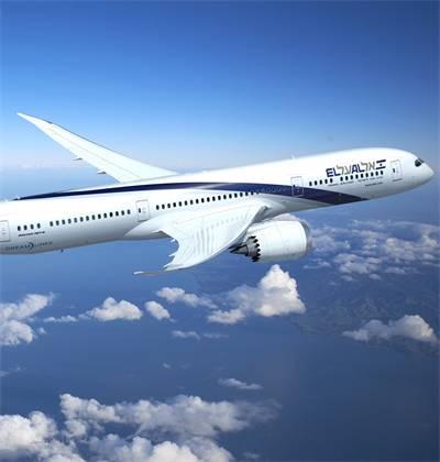 """מטוס בואינג 787 דרימליינר של אל על / צילום: יח""""צ"""
