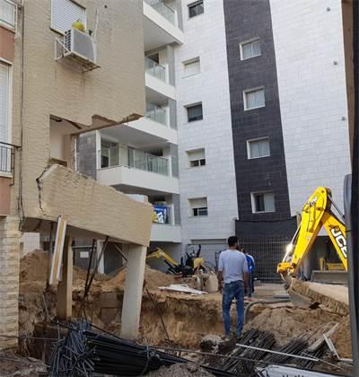 """בניין שעובר תמ""""א 38 בקריית ביאליק / צילום: עיריית קרית ביאליק"""