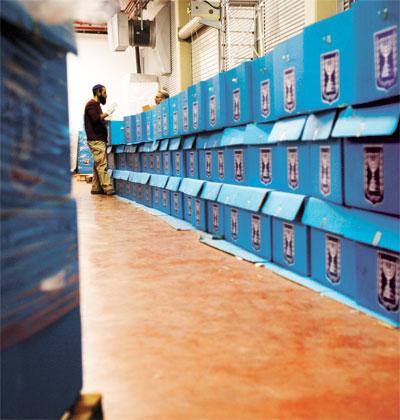 בחירות לרשויות המקומיות / צילום: רויטרס, Baz Ratner