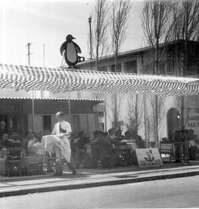 מסעדת הפינגוווין בנהריה / צילום: באדיבות ארכיון משפחת אופנהיימר