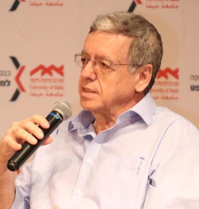 מני מזוז בכנס חיפה למשפט / צילום: דוברות אוניברסיטת חיפה