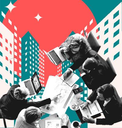 בדיקת היתכנות חברתית ומיפוי בהתחדשות עירונית / עיצוב: טלי בוגדנובסקי, צילום: shutterstock