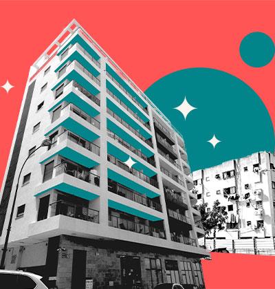 דיור חלופי בהתחדשות עירונית למי מגיע ומתי / עיצוב: טלי בוגדנובסקי, צילום: בר אל, shutterstock