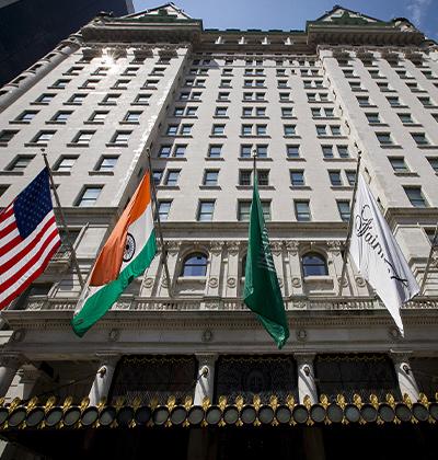 ריץ פלאזה, ניו יורק. לשעבר של יצחק תשובה  / צילום: Brendan McDermid, רויטרס