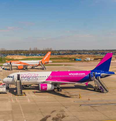 מטוסים של איזי ג'ט ווויז אייר./ צילום:Shutterstock א.ס.א.פ קריאייטיב