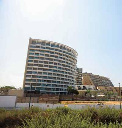 סי אנד סאן ומלון West /צילום:שלומי יוסף