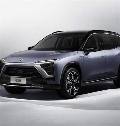 """רכב חשמלי של NIO הסינית / צילום: יח""""צ"""