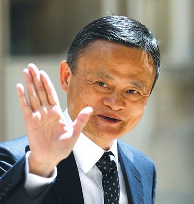 ג'ק מא, המייסד של עליבאבא ואנט / צילום: Thibault Camus, Associated Press
