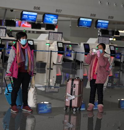 שדה תעופה נטוש בבייג'ינג / צילום: Tingshu Wang, רויטרס