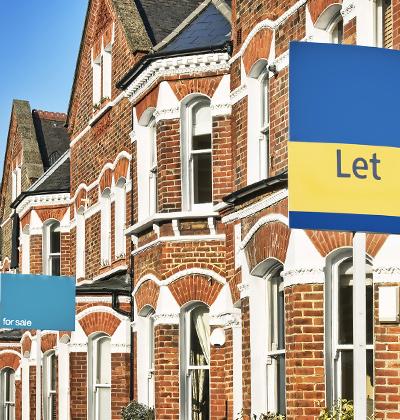 בתים להשכרה באנגליה. איסור על פינוי שוכרים לשלושה חודשים  / צילום: shutterstock, שאטרסטוק