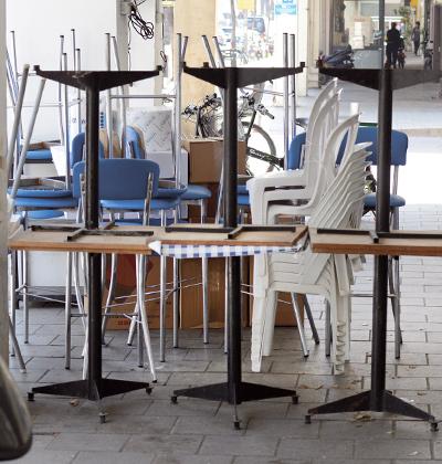 עסקים סגורים בתל אביב / צילום: איל יצהר, גלובס