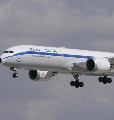 מטוס אל על / צילום: יואב יערי