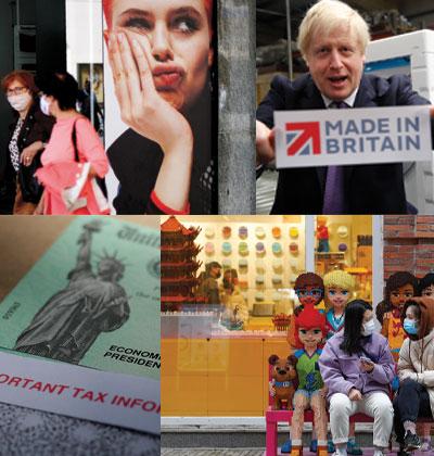ממשלות ברחבי העולם נוקטות בצעדים שונים כדי להיחלץ מהקורונה הכלכלית / צילום: Associated Press