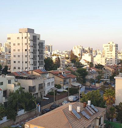 מרכז רמת גן. עוד דירות על חשבון שטחים ציבוריים / צילום: גיא ליברמן, גלובס