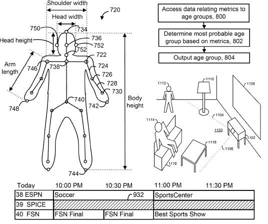 kinect_patent_microsoft