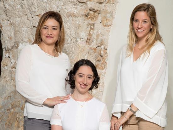 מאיה דרייר, שרה טנקמן, מייסון ריא / צילום: רמי זרנגר