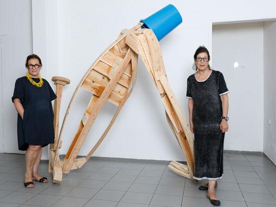 נעמי גבעון (מימין) ונורית וולף / צילום: כפיר זיו
