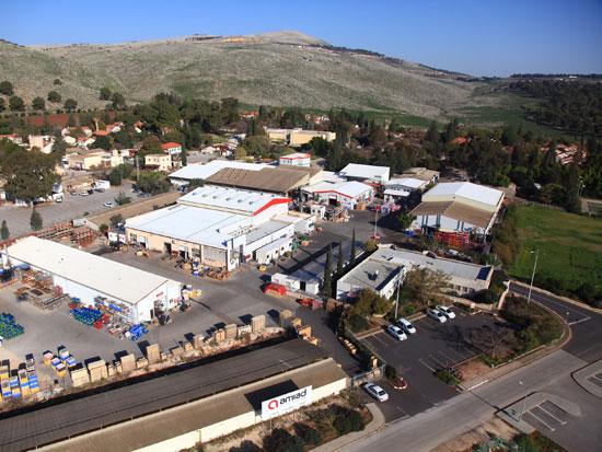 המפעל בקיבוץ עמיעד / צילום: אסף סולומון