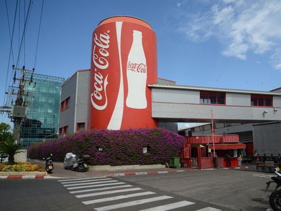 קוקה קולה - מפעל / צילום: איל יצהר