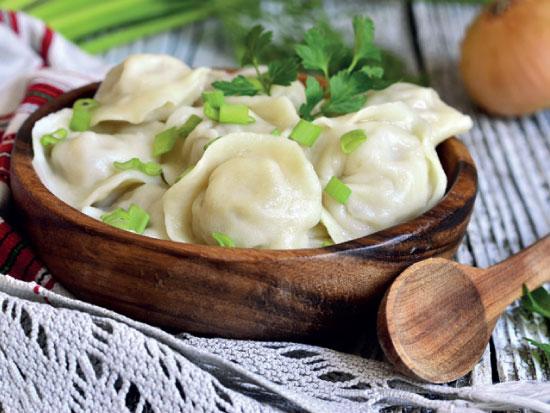 אוכל - נובי גוד - כיסוני פילמני מאודים / צילום: שאטרסטוק