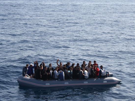 סירת הגומי שמצאנו / צילום: אסף אוני