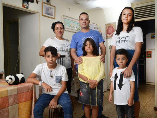 משפחת סבג / צילום: איל יצהר