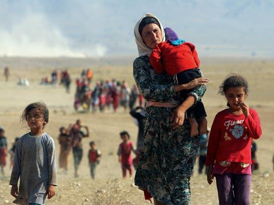 גל לוסקי פליטים סורים / צילום: רויטרס