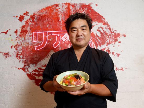 יאמה סאן, מנצח על התפריט במסעדות קיטו קאטו ו־TYO / צילום: איל יצהר, גלובס