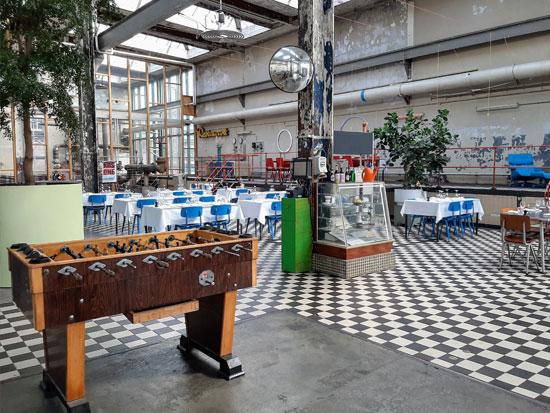 מתחם תעשייתי שהפך למסעדה / צילום: Shutterstock | א.ס.א.פ קריאייטיב
