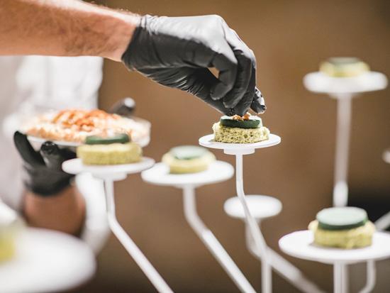 מנה מתערוכת EatTech / תומר פולטין | עיצוב וקונספט: לירון צנחני