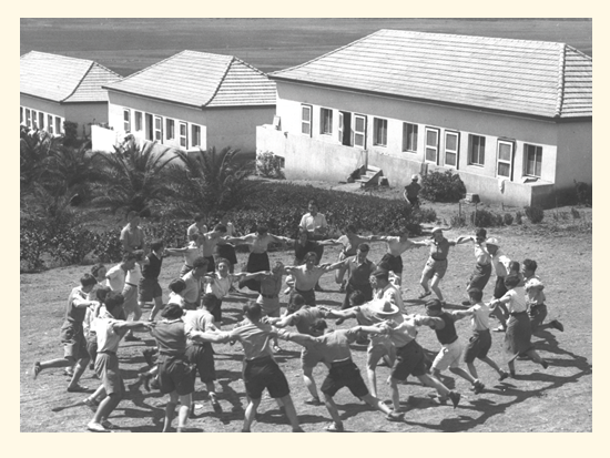 """הקמת עין חרוד. על אדמה של משפחת סורסוק / צילום: לע""""מ"""