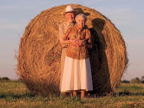"""לומה לינדה. התושבים בעיר חיים עשר שנים יותר מתוחלת החיים הממוצעת בארה""""ב / צילום: דן מקלין"""