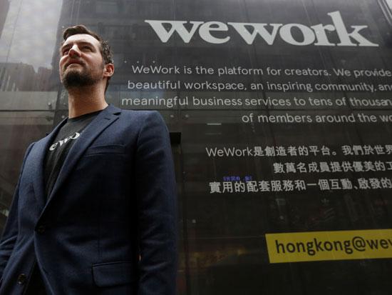 מיגל מקלבי, המייסד השותף של WeWork / צילום: רויטרס - Bobby Yip